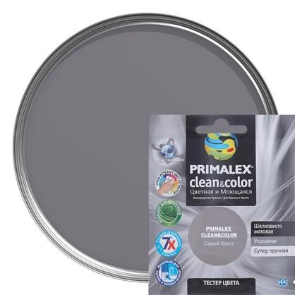 Тестер Primalex Clean&Color 40 мл Серый холст в