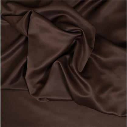 Ткань 280 см блэкаут однотон цвет коричневый