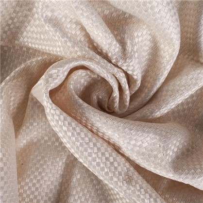 Ткань 280 см лен однотон цвет бежевый
