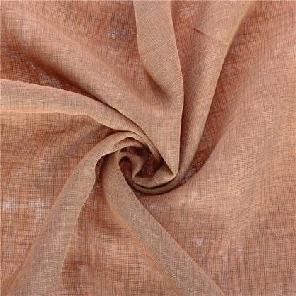Ткань под лен 285 см цвет светло-коричневый