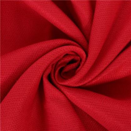 Ткань велюр 285 см цвет красный