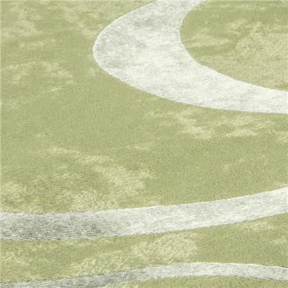 Ткань Абстракция 280 см блэкаут цвет зеленый