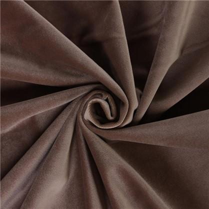 Ткань бархат 150 см цвет коричневый