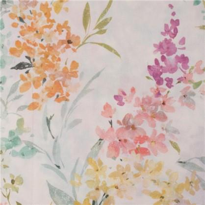 Ткань Брума 280 см абстракция цвет розовый