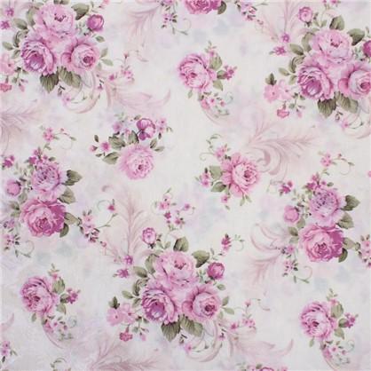 ткань Интерио розы  ширина 150 см