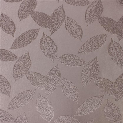 Ткань Листья ширина 280 см цвет коричневый