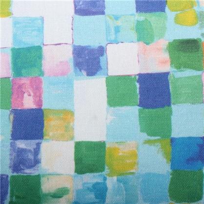 Ткань Турин клетка 280 см абстракция