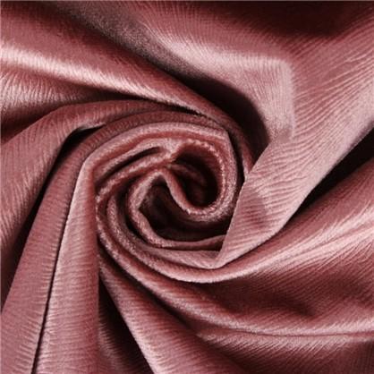 Ткань вельвет 280 см цвет розовый