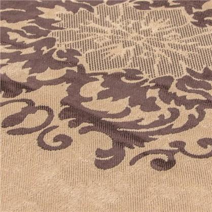 Ткань Вензель 280 см блэкаут цвет коричневый