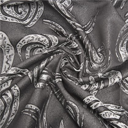 Ткань Вихрь 150 см цвет серый