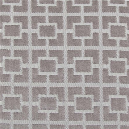 Ткань жаккард Квадраты 300 см цвет серый