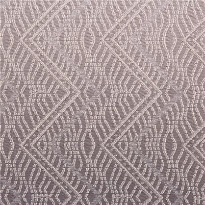 Ткань жаккард Зигзаг 280 см цвет серый