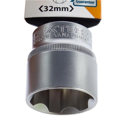Торцевая головка Dexter 1/2 32 мм