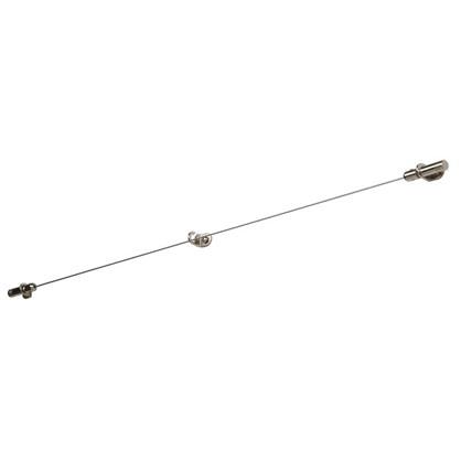 Трос с натяжным механизмом 3.5 м цвет хром