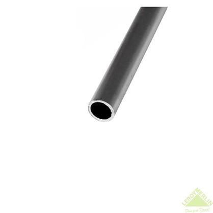 Труба 2000x50x2 мм алюминий цвет серебристо-белый