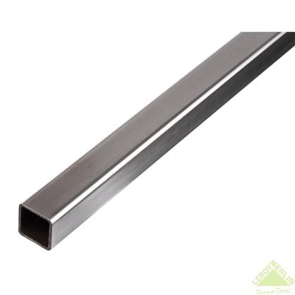 Труба Gah Alberts квадратная 16x16x1x2000 мм сталь цвет серый