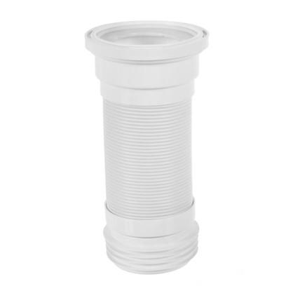 Труба гофрированная для унитаза армированная Equation L 290-640 мм