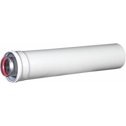 Труба коаксильная 60x100 мм 1 м