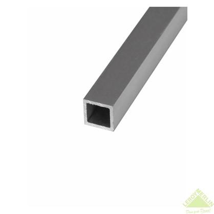 Труба квадратная 15х15х2000х15 мм алюминий цвет серебро