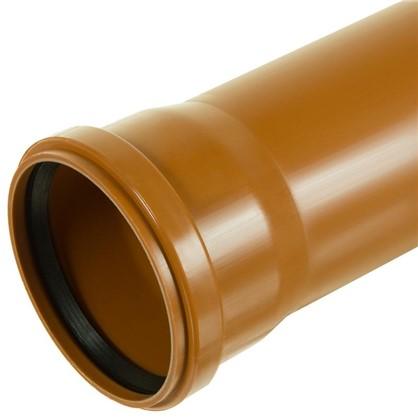 Труба раструбная наружная 110х3000 мм