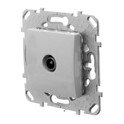 ТВ-розетка Schneider Electric Unica одиночная цвет белый