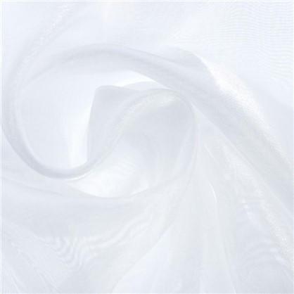 Тюль 1 п/м 280 см органза/сатин однотон цвет экрю