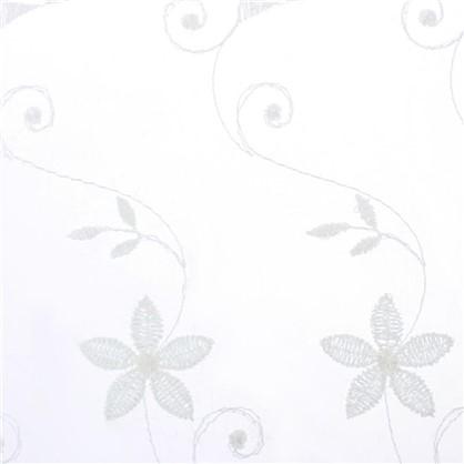 Тюль 1 п/м вышивка 280 см цвет экрю