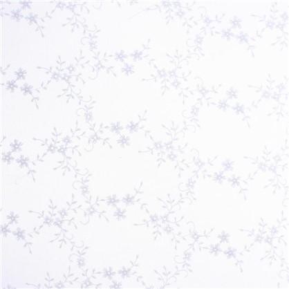 Тюль 1 п/м вышивка на сетке 280 см цвет белый