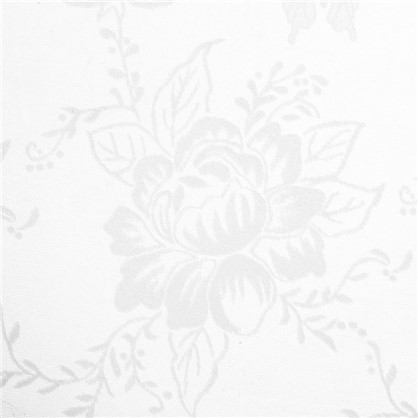 Тюль Бабочки 280 см цвет белый