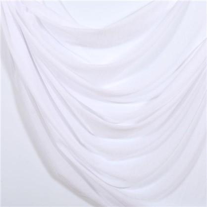 Тюль Дождь 1 п/м 300 см однотон цвет белый