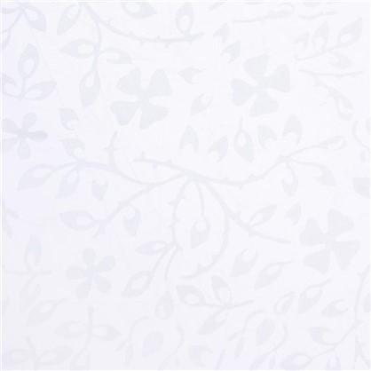 Тюль Глория органза деворе 280 см цвет молочный