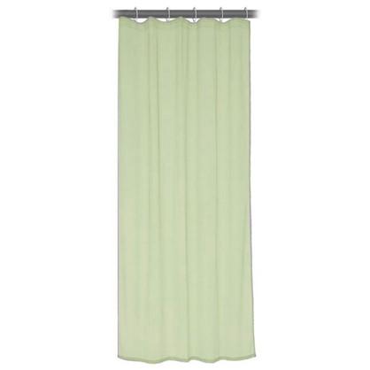 Тюль на ленте 140x260 см органза цвет зеленый