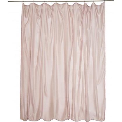 Тюль на ленте 300х280 см микровуаль цвет розовый антик