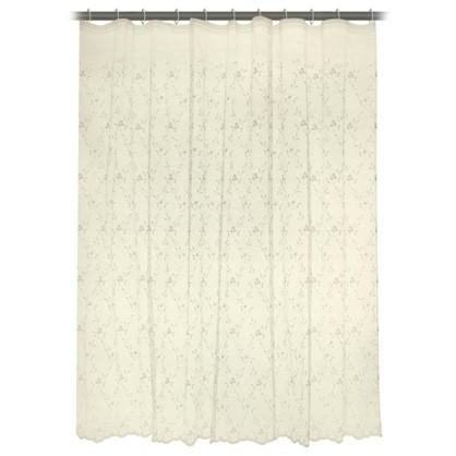 Тюль на ленте Альма 250х260 см цвет бежевый
