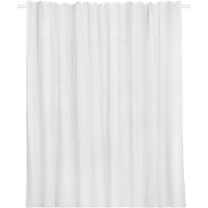 Тюль на ленте Boho 300x280 см цвет белый
