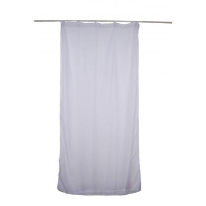 Тюль на ленте Broken Hill 140х260 см вуаль цвет белый