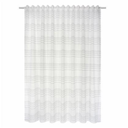 Тюль на ленте Coventry 290х280 см цвет серый