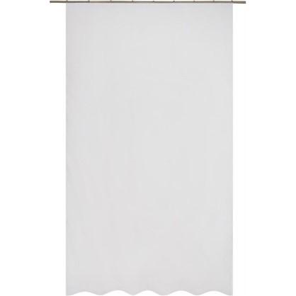 Тюль на ленте Goulburn 160х260 см вуаль цвет белый
