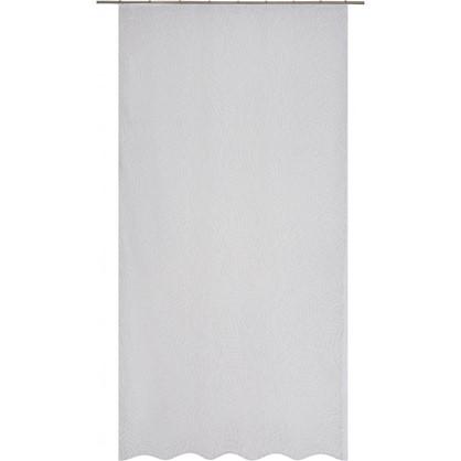 Тюль на ленте Кострома 140х260 см вуаль цвет белый