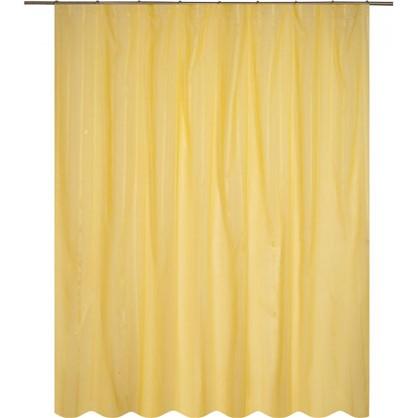 Тюль на ленте Лиза 300х280 см цвет желтый
