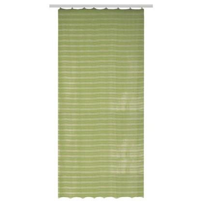 Тюль на ленте Монтона 290х260 см цвет зеленый