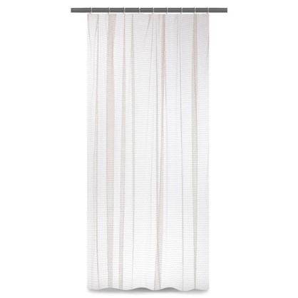 Тюль на ленте Пенелопа 250х260 см цвет серый