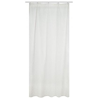 Тюль на ленте Samara 160х260 см вуаль цвет белый