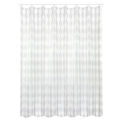 Тюль на ленте Веллен 290х260 см цвет белый
