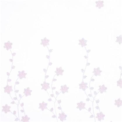 Тюль с вышивкой Невеста сетка 290 см цвет розовый
