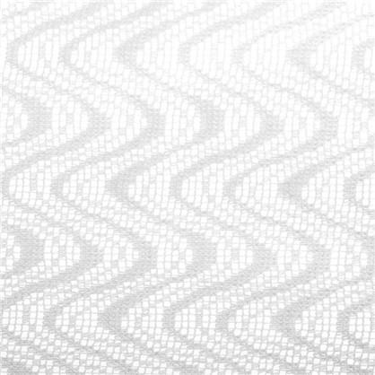 Тюль Волна сетка 280 см цвет молочный