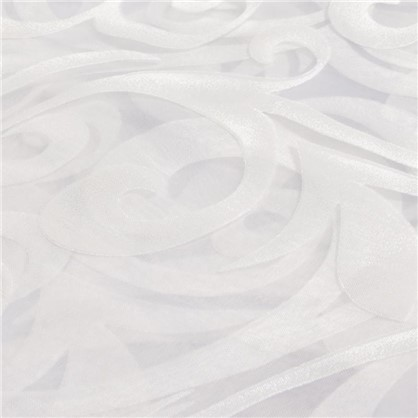 Тюль Завиток 1 п/м 280 см цвет белый