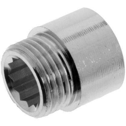 Удлинитель 1/2x15 мм цвет хром