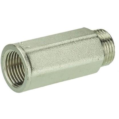 Удлинитель Valtec внутренняя резьба 1/2х50 мм никелированная латунь