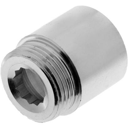 Удлинитель внутренняя резьба 1-30 мм цвет хром